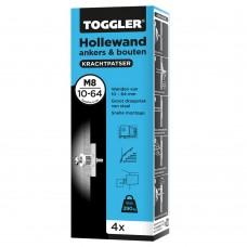 anker hollewand m8 10-64 mm 4 stuks