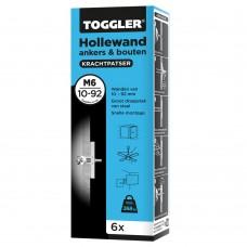 Anker hollewand M6 10 - 92 mm doos 6 st