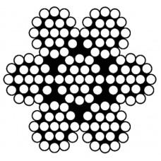 staaldraadkabel rvs 3 mm