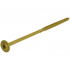 dynaplus houtbouwschroef ar-bronze tellerkop tx-30 6.0x100/55 50 stuks