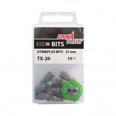 Bit Dynaplus  25mm TX-20 groen